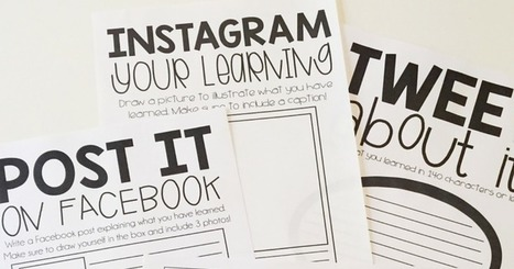 iTeach Third: Using Social Media to Assess Learning | 21st Century Creative Resources | Scoop.it