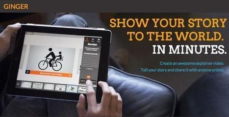 Adobe quiere subirse al carro de las videopresentaciones con Ginger, una aplicación para iPad en pruebas | Innovación docente universidad | Scoop.it