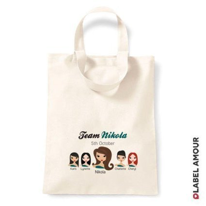 Label Amour   Personalised Tote Bags for Hen Party   Personalised Labels   Scoop.it