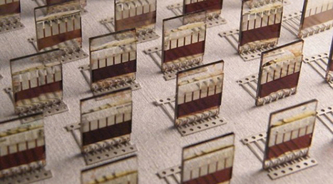 Spray-painted solar cells promise cheap power on seemingly any surface | biophilic | Scoop.it