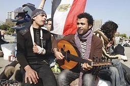 Place prépondérante de la musique dans la Révolution du 25 Janvier | Égypt-actus | Scoop.it