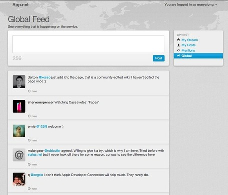 Twitter Competitor App.net Reaches Funding Goal – Now What? - AllTwitter | Cloud Central | Scoop.it