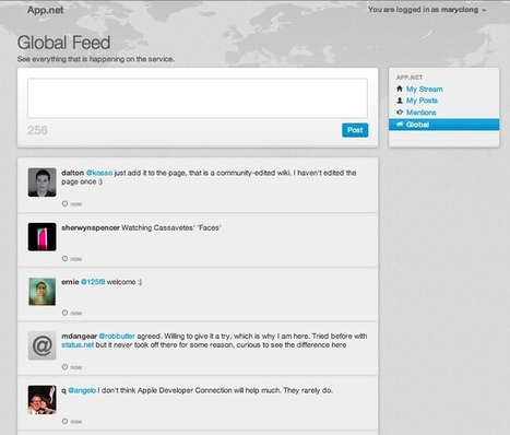 Twitter Competitor App.net Reaches Funding Goal – Now What? - AllTwitter   Cloud Central   Scoop.it