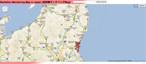 Radiation Monitoring Map   Mapping & participating: Fukushima radiation maps   Scoop.it