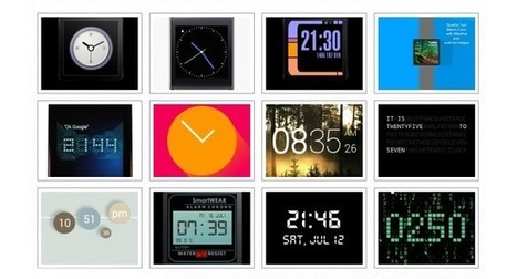 The best Android Wear Watch Face Apps | Pocketpt.net | Scoop.it