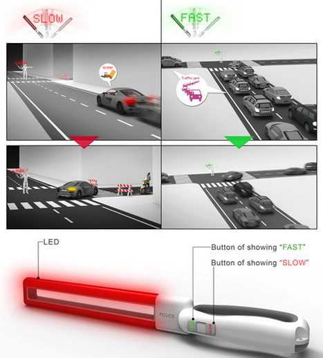 Swing Baton – Traffic Guiding Baton by Chih Wei Lai & Chi Wang » Yanko Design | Policies 2.0 | Scoop.it