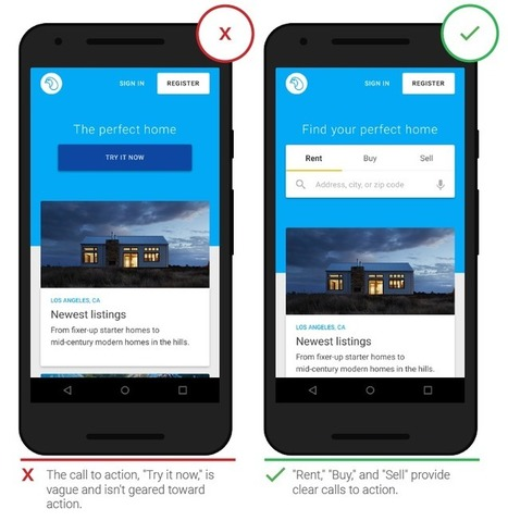 The latest mobile app UX enhancement tips by Google - WhaTech | Mobile App Development | Web Development Company | Rapidsoft Technologies | Scoop.it