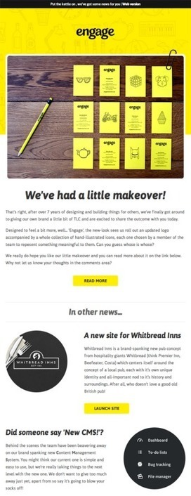 50 Of The Best Email Marketing Designs We've Ever Seen   Canva   Public Relations & Social Media Insight   Scoop.it