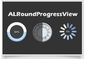 ALRoundProgressView   Objective-C   CocoaTouch   Xcode   iPhone   ChupaMobile   IOS_SAT   Scoop.it