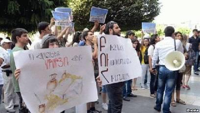 Arménie : Les étudiants protestent contre les frais de scolarité | Higher Education and academic research | Scoop.it