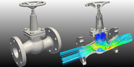 Controlling Pressure Drop in Industrial Valves Using CFD | CFD Analysis | Scoop.it