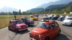 EDIZIONE DA RICORDARE: 100 FIAT 500 SULLE MONTAGNE FRIULANE PER 300 KM, OLTRE 200 PARTECIPANTI « Fiat 500 alla conquista del Friuli – Il blog | Fiat 500 | Scoop.it