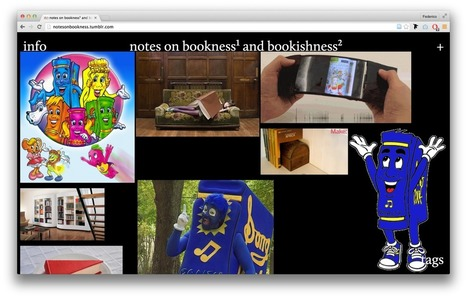 Bookmark - Notes on bookness¹ and bookishness² | Books On Books | Scoop.it