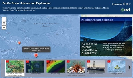 An Ocean of Story Maps | ArcGIS Blog | teachitgeography | Scoop.it