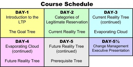 """5 day """"Thinking Processes"""" course by Bill Dettmer - Luxemburg Dec 27th 