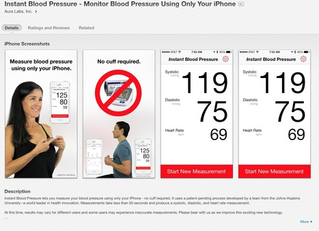 Instant Blood Pressure app study shows shocking inaccuracy   Healthcare and Medical Apps   Scoop.it