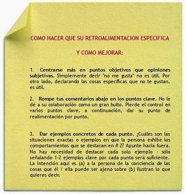 PENSANDO EN ALTO POSITIVAMENTE: MANEJO DE CRÍTICAS: COMO DAR UNA CRÍTICA CONSTUCTIVA | Formateate.net | Scoop.it