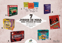 EL BLOG DE MANU VELASCO: 7 JUEGOS DE MESA PARA UTILIZAR EN CLASE | Teaching and Learning in the 21st Century | Scoop.it