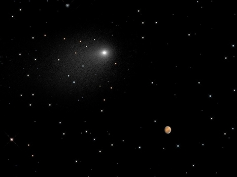 Comet's Close Encounter With Mars Yields New Insights Never Before Seen | Space Stuff | Scoop.it