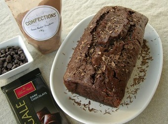 Magnolia Days | Quadruple Chocolate Loaf Cake | Food for Foodies | Scoop.it