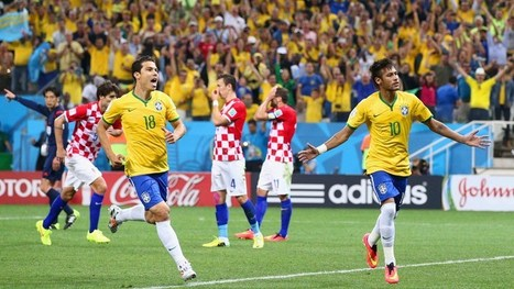 Neymar fires Brazil to comeback victory | FIFA World Cup Brazil 2014 | Scoop.it