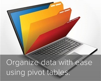 How to Build a Pivot Table in Excel: A 1-Minute Explanation [Video] | Brand Analysis | Scoop.it