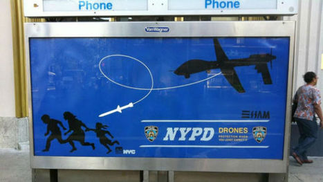 Street Artist Behind NYC Drone Posters Arrested | Emergent Digital Practices | Scoop.it
