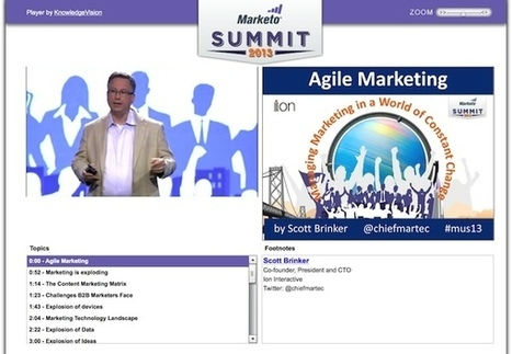 Introduction to agile marketing (video presentation) - Chief Marketing Technologist | Agile Marketing | Scoop.it