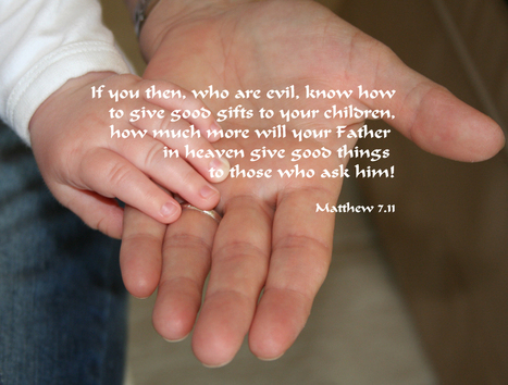 Matthew 7.11 Poster | Resources for Catholic Faith Education | Scoop.it