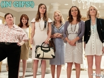 The Emotional Lifecycle Of A Bridesmaid (In GIFs!) - The Frisky | Wedding | Scoop.it
