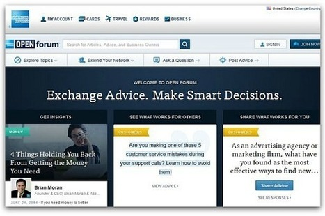 What makes American Express's content site a raging success | Social Media Snacks | Scoop.it