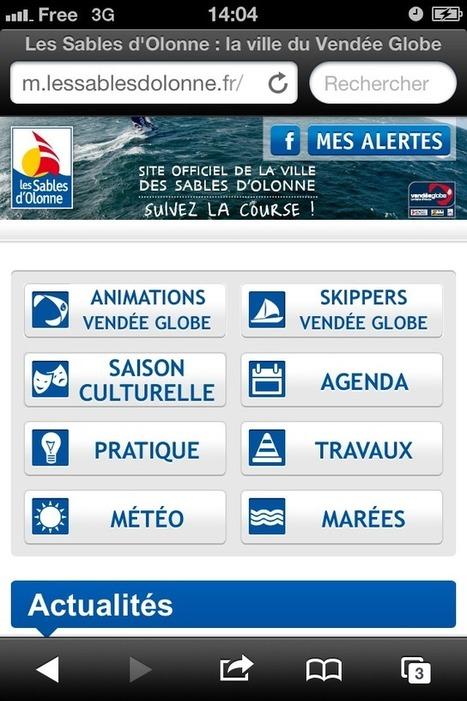 Site mobile ou responsive webdesign ? - Stratégies Etourisme   Tourisme numérique   Scoop.it