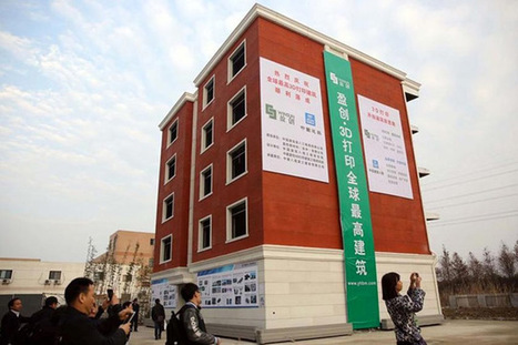 LOOK: 3D-printed mansion, apartment building now on display in Suzhou | China, Innovation & entrepreneurship | Scoop.it
