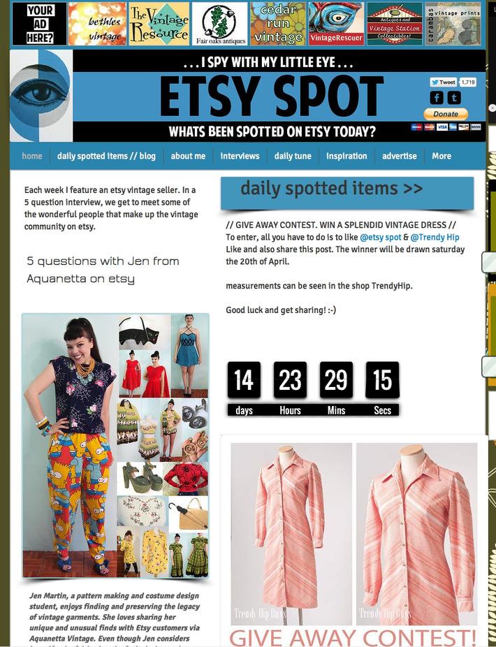 check out new : www.etsyspot.com | Antiques & Vintage Collectibles | Scoop.it