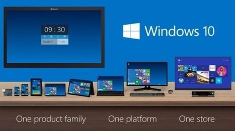 Build 2015 : Windows 10 pour Smartphone pas avant cet automne | Pierre-André Fontaine | Scoop.it