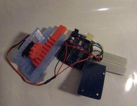 RFID Controlled Door | MakerTech, Makerspaces and DIY | Scoop.it