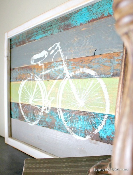 Reclaimed Wood Bicycle Art - Reader Featured Project - The ... | Reclaimed Wood Furniture | Scoop.it