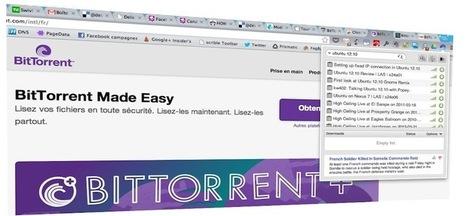 Bittorrent dévoile Surf: un client torrent intégré à Google Chrome | Actualité Internet, réseaux sociaux, systemes, Apple, Google, Microsoft.... | Scoop.it