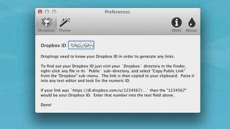 Comparte tus archivos de Dropbox de manera sencilla con Droplings | Rede Nacional de Teleodontologia | Scoop.it