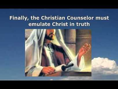 Program for Christian Counselors: Christ, The Paradigm for All Christian Counselors