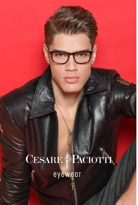 Lucas Loyola for Cesare Paciotti Eyewear | Le Marche & Fashion | Scoop.it