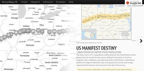 StoryMap JS, para crear diapositivas encima de mapas y fotografías gigantes | Cartografía | Scoop.it