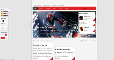 Joomla 2.5 game and magazine template | Free Joomla Templates | doooms | Scoop.it