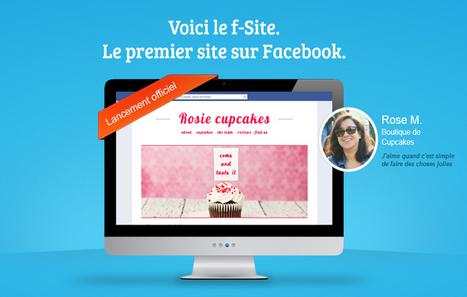 Influencia - Marketing Progress - Le f-Site : et si Facebook révolutionnait l'usage du site web ? | pageyourself | Scoop.it