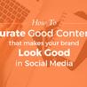 Content Creation, Curation, Management