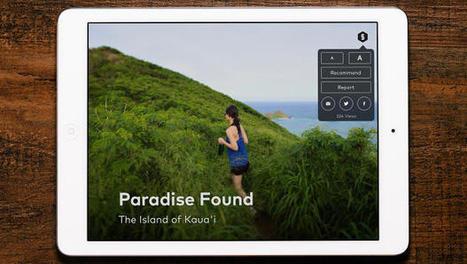 Apple Alum Reimagines Storytelling On The iPad | Transmedia Storytelling for Business | Scoop.it