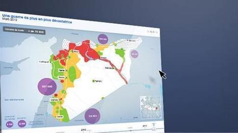 Syrie : deux ans de conflit en cinq cartes | Cartomanie | Scoop.it