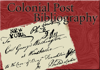 Postal Service in Colonial America A Bibliography of Material in | Historical Research Sites | Scoop.it