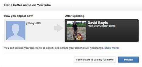 Reliez votre chaîne YouTube à votre compte Google+ | Réseaux sociaux | PME | Scoop.it