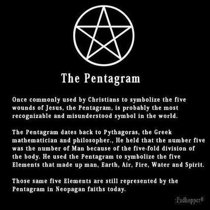 The Pentagram | Time to straighten the misconceptions. | Scoop.it